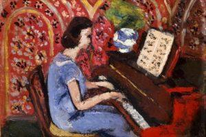 Henri-Matisse-Petite-pianiste-à-la-robe-bleue